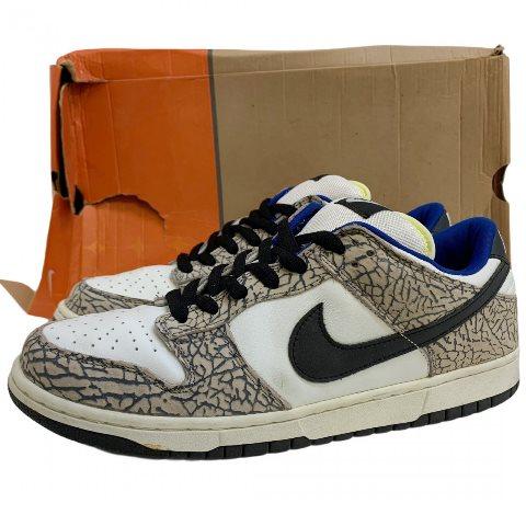 メンズ靴, スニーカー 02 SUPREME NIKE DUNK LOW PRO SB White Cement US10.528.5 304292-001