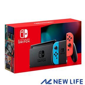 【新品、訳あり(店舗印付き)】2019年8月発売 Nintendo Switch 本体 JOY-CON(L) ネオンブルー/(R) ネオンレッド▽▲ おうち時間