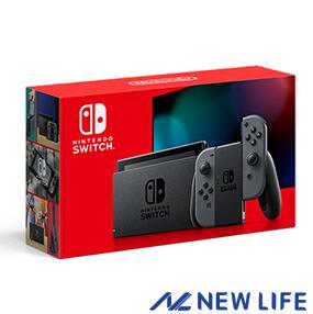 【未使用】Nintendo Switch Joy-Con(L)/ (R) グレー 2019年8月発売モデル ゲーム機 ■◇ おうち時間