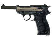 ガスガン マルゼン ワルサーP38(ac40)ブラックメタル