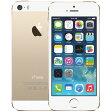 アップル iPhone 5s SIMフリー モデル 16GB ゴールド 整備済み品