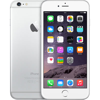 アップル iPhone6 Plus SIMフリー モデル 16GB シルバー 日本 国内モデル 整備済み品 格安SIM 対...