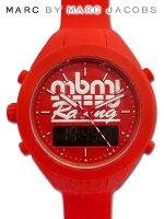 【送料無料】マークバイマークジェイコブスの希少シリコン腕時計