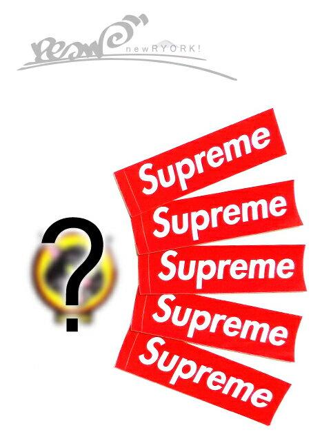 """【送料無料】【ステッカー福袋・レッド系】Supremeシュプリーム【Supreme Box Logo Sticker】""""シュプリームボックスロゴステッカー福袋セット(合計6~7枚入り)"""""""