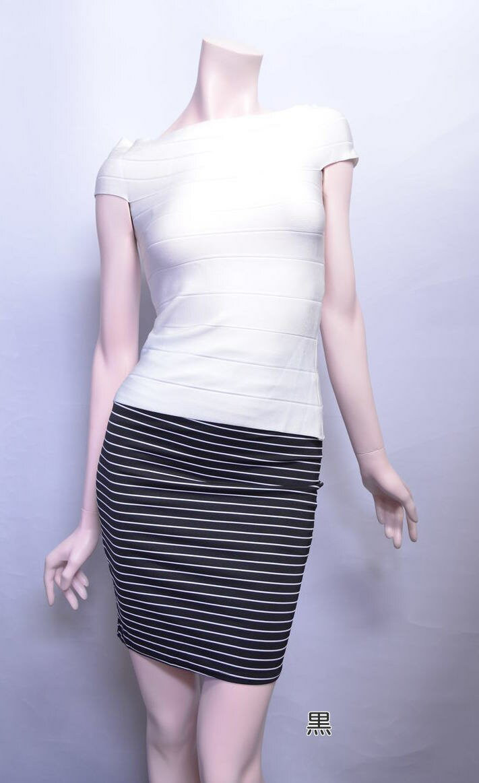 キャバ嬢 ドレス キャバ ミニドレス  ボーダー柄が可愛いストレッチスカート キャバドレス ミニドレス ミニワンピ [N-1388][ar-rv-n]【M】