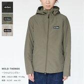 【正規販売店】WILD THINGS(ワイルドシングス) ウインドブレーカー(WT17003N)※DM便(メール便)不可