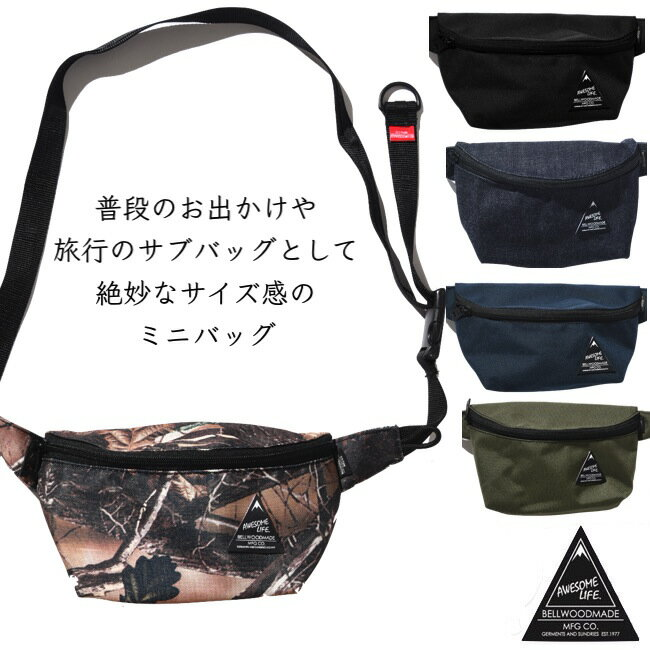 レディースバッグ, ボディバッグ・ウエストポーチ BELLWOOD MADE Body Bag HIPBAG