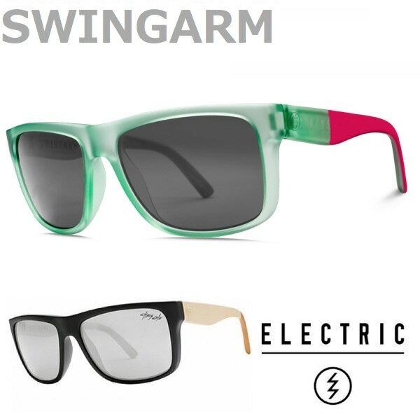 眼鏡・サングラス, サングラス ELECTRIC sunglasses SWINGARM SEA FOAM PINK CHRIS COLE MATTE GREY SILVER,MATTE GREY