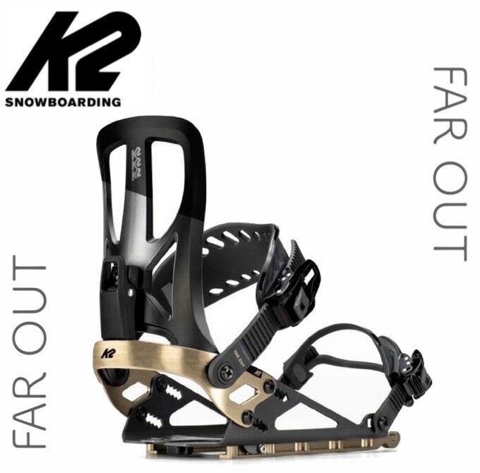 K2 ケーツー FAR OUT ファーアウト ビンディング スプリットボード バックカントリー スノーボード オールマウンテン サーフライド パウダー メンズ [正規販売店]画像