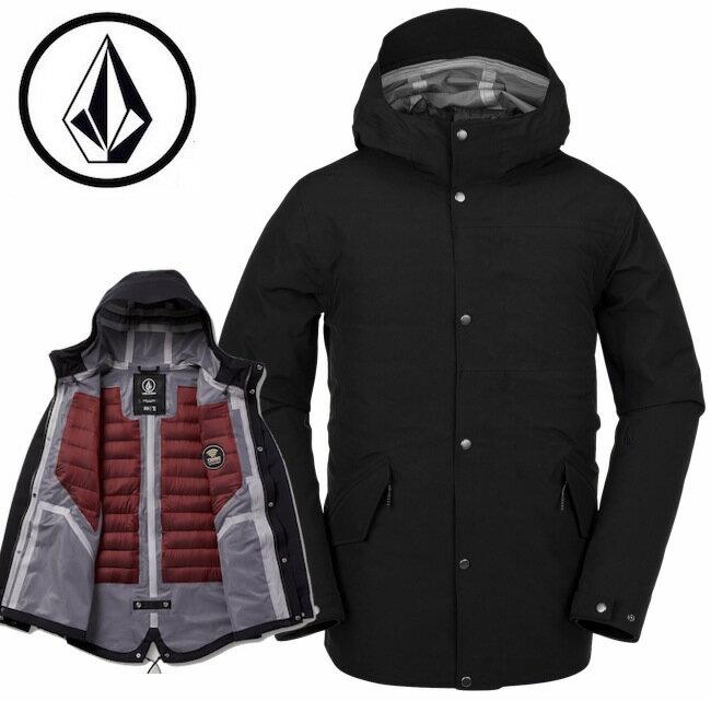 メンズファッション, コート・ジャケット VOLCOM LANE TDS PARKA BLACK