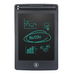 送料無料 HOMESTEC 電子メモ デジタルメモ 6.5インチ 電子メモパッド ワンタッチ消去 ロック機能付き 手書きパッド 筆談ボード LCD液晶パネル ペン付き 学習 絵描き 打ち合わせ 伝言板 筆談ツール メモ取りなどに対応