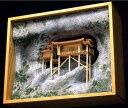 建築模型 観光名所 Woody JOE 【 1/75 三佛寺 投入堂 】 模型 木工模型 工作 木製模型 キット 木製工作キット 趣味 製作 リアル 忠実 再現模型 再現 夏休み 盆休み 冬休み 建造物 寺・仏閣 建物 建築 ウッディジョー ウッディージョー
