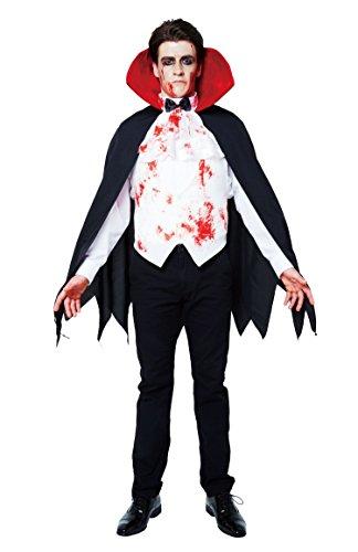 BLOODY ブラッディーヴァンパイア コスチューム メンズ ~180cm 【クリアストーン正規品】