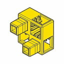 Artecブロック ハーフB 8P 黃/77781/ 4521718777818/ アーテック