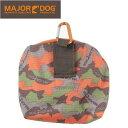 メジャードッグ (MAJOR DOG) MAJOR DOGメジャードッグ 携帯バッグ Belt Bag / ドライフードやおやつを入れる専用バッグ(カラビナ付)です!