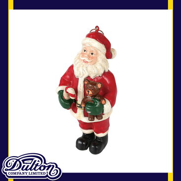 【 DULTON HANGER SANTA WITH BEAR K655-644BE 】 オーナメント 飾り クリスマス Xmas サンタクロース 人形 ブリキ おしゃれ 雑貨 インテリア ダルトン ハンガー サンタ ウィズ ベアー