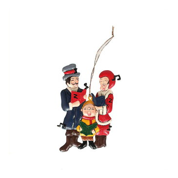 【 DULTON HANGER CAROLERS K655-645CR 】 オーナメント 飾り クリスマス Xmas 人形 ブリキ おしゃれ 雑貨 インテリア ダルトン ハンガー キャロラーズ
