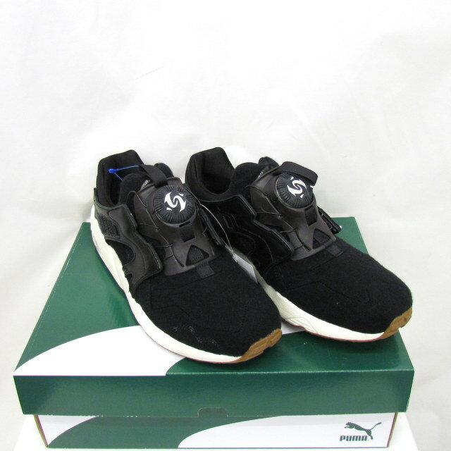 メンズ靴, スニーカー PUMA DISC BLAZE FELT 358820-03 27.5cm US912 T