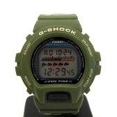 ジーショック カシオ 腕時計 G-SHOCK CASIO FOX FIRE フォックスファイアー DW-6640-3 ショックレジスト タイマー 迷彩 カモフラ カーキ デジタル さそり ウォッチ メンズ 東大阪店 130827 【USED】