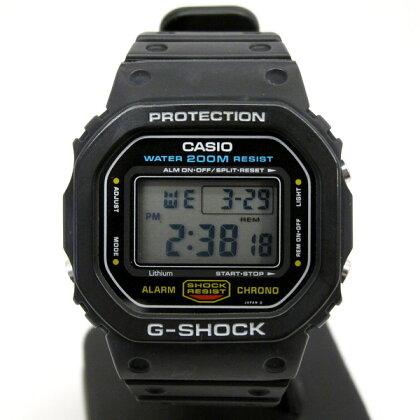 G-SHOCKジーショックCASIOカシオ腕時計DW-5600C-1角型モデルスクエア海外モデルスピードスクリューバック200M防水ブラックメンズヴィンテージアンティークデジタルクォーツ東大阪店167946【USED】