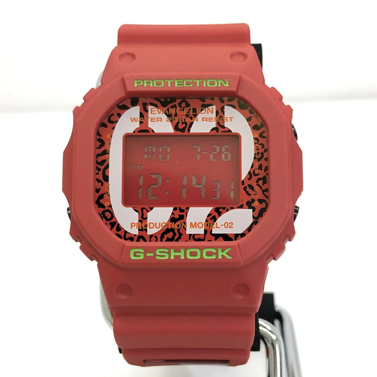 腕時計, メンズ腕時計 G-SHOCK CASIO DW-5600VT RADIO EVA-02 T ITUHNSHXPAZY RY5009