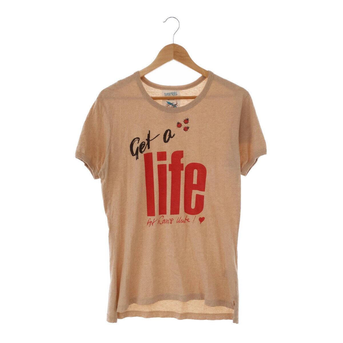 トップス, Tシャツ・カットソー Vivienne Westwood Worlds End Get a life T Tee T-shirt ITV68JIA5ILY RM1446I