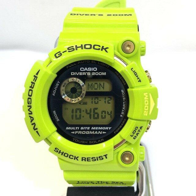 腕時計, メンズ腕時計 G-SHOCK CASIO GW-200F-3JR FROGMAN 2009 ISO200M T IT49RCDUUAAG RY3772
