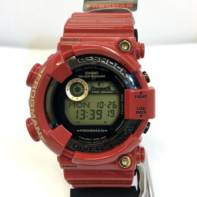 腕時計, メンズ腕時計 G-SHOCK CASIO GF-8230A-4JR FROGMAN Rising RED 30 30th Anniversary T ITPK57LZDCIO RY3816