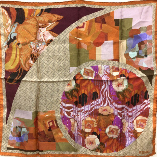 マフラー・スカーフ, レディーススカーフ FENDI T ITKJYHQ3ED1G RYB7533
