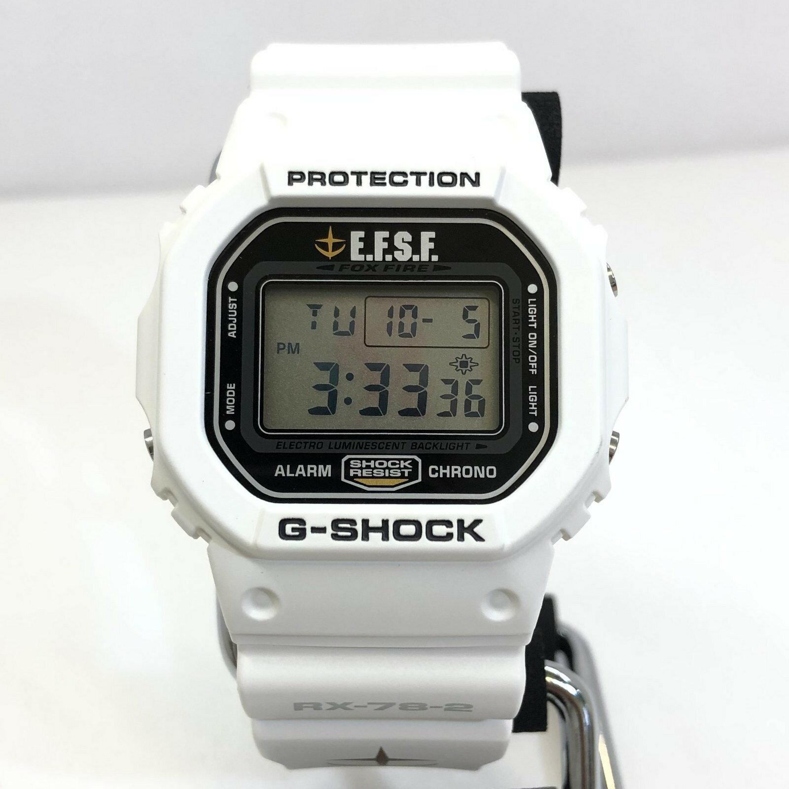 腕時計, メンズ腕時計 G-SHOCK CASIO DW-5600VT 30 RX-78-2 E.F.S.F T ITYO203WEOC8 RY5342