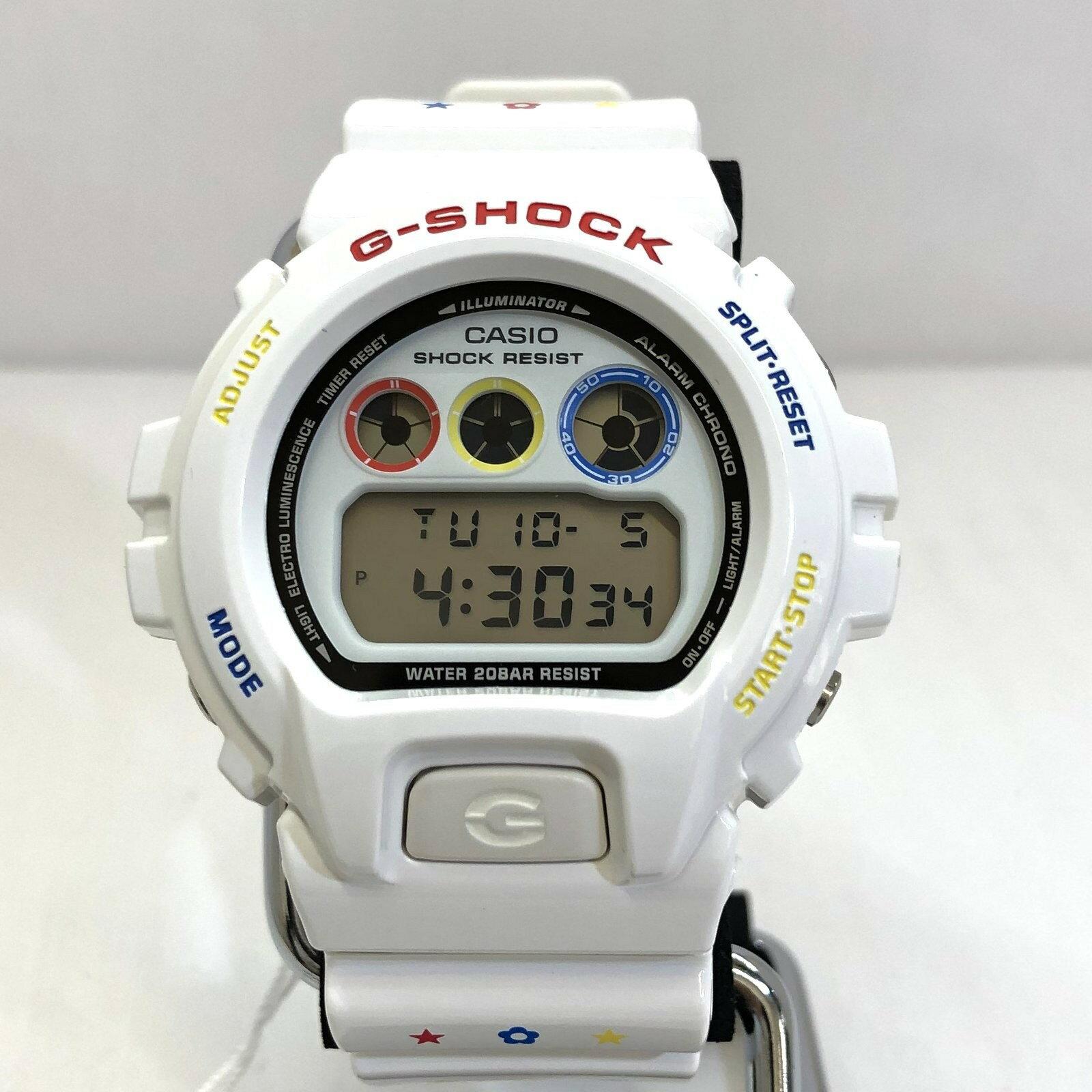 腕時計, メンズ腕時計 G-SHOCK CASIO DW-6900MT-7JR 30 MEDICOM TOY BERBRICK T ITBROZVHKDDW RY5378