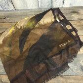FURLA フルラ ストール マフラー レディース ブラウン 茶色 小物 レディース 古着屋NEXT貝塚店【USED】RK679M