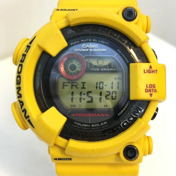 腕時計, メンズ腕時計 CASIO G-SHOCK FROGMAN GF-8230E-9JR yellow 787740 RK887J