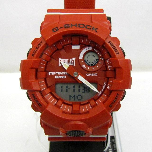 腕時計, メンズ腕時計 G-SHOCK CASIO GBA-800EL G-SQUAD EVERLAST T 374658 RY1963