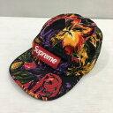 Supreme シュプリーム 17AW PAINTED FLORAL CAMP CAP 帽子 マルチカラー プリント メンズ アメリカ製 三国ヶ丘店 610200 【中古】 RM4226