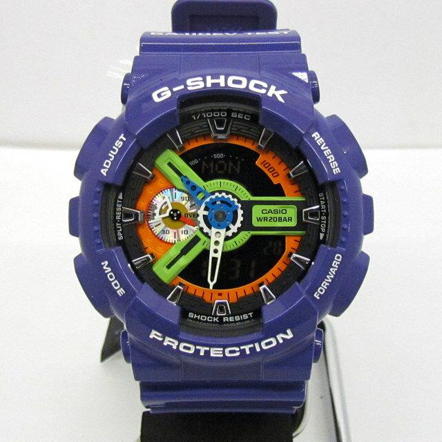 腕時計, メンズ腕時計 G-SHOCK CASIO GA-110EV-6AJR EVANGELION NERV T 392829 RY2314