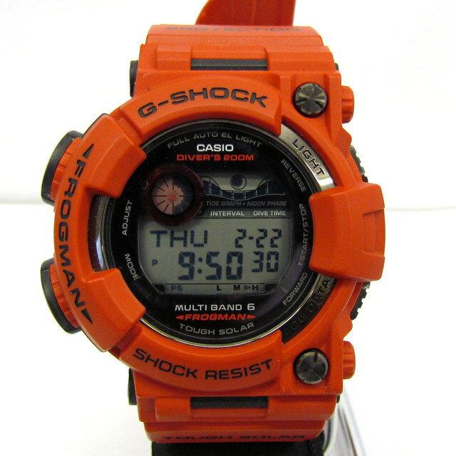 腕時計, メンズ腕時計 G-SHOCK CASIO GWF-1000RD-4JF FROGMAN Men in Burning Red G 6 T 395660 RY2333