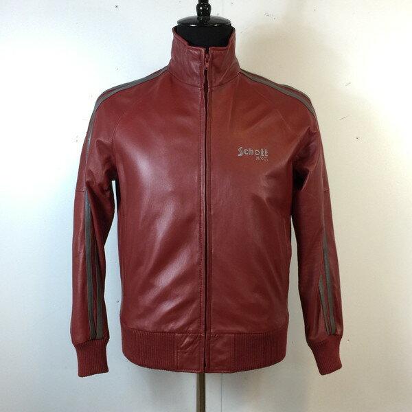 メンズファッション, コート・ジャケット Schott TRUCK JACKET 3171004 red M 891041 RK1646G
