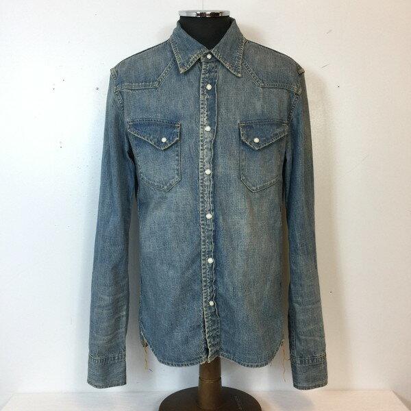 トップス, カジュアルシャツ REMI RELIEF Blue L RK1777G