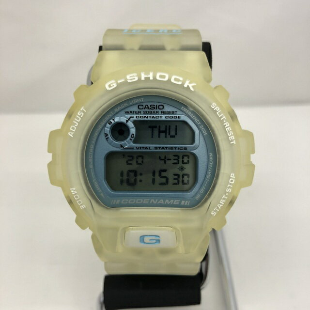 腕時計, メンズ腕時計 G-SHOCK CASIO DW-6910K-2BT 6 ICERC CODE NAME ALL AS ONE 1997 6th T 410806 RY2686