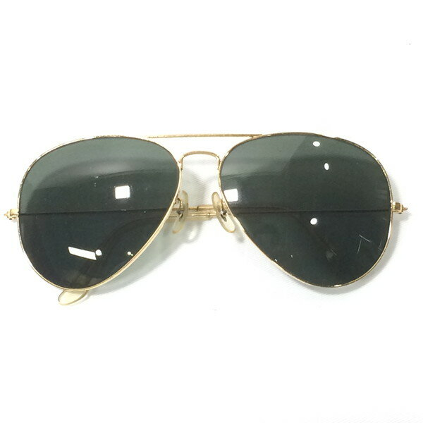 眼鏡・サングラス, サングラス RAY BAN AVIATOR BL OLD USA 680708 RM0764D
