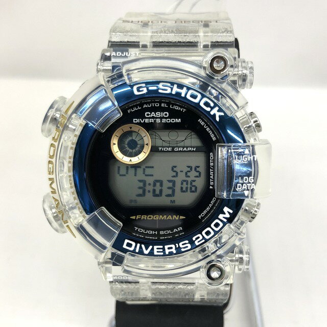 腕時計, メンズ腕時計 G-SHOCK CASIO GF-8251K-7JR FROGMAN ICERC 25 25TH T 414620 RY2815