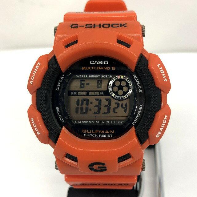 腕時計, メンズ腕時計 G-SHOCK CASIO GW-9100R-4 GULFMAN T 418475 RY2876
