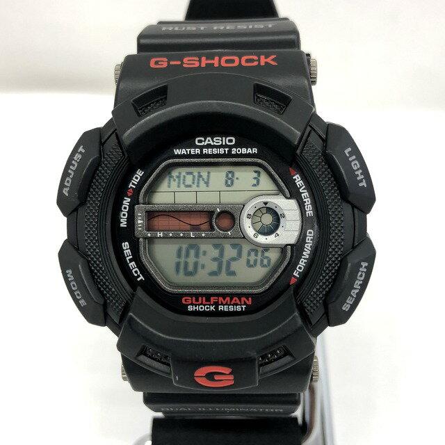 腕時計, メンズ腕時計 G-SHOCK CASIO G-9100-1JF GULFMAN EL T 436950 RY3195