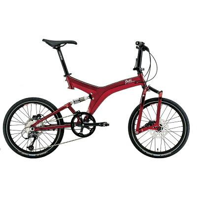 JEDI専用輪行バッグプレゼント LOUIS GARNEAU LGS-JEDI MS グリーン レッド 折り畳み 折りたたみ自転車 プレゼント 可愛い 子供 おしゃれ ルイガノ 入学祝い 小学校 女の子 入園祝い JEDI専用輪行バッグをセットでお届けします