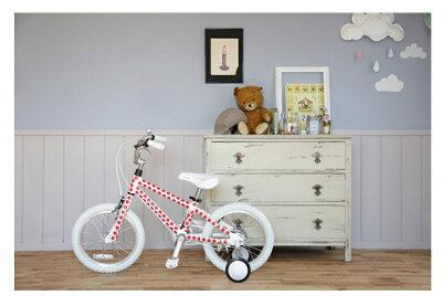 GraphicDesign【軽量アルミフレーム】◆arcoba◆アルコバ16インチ幼児車TEKTROブレーキ・ホワイトパーツ子ども用自転車【送料無料】送料込補助輪付