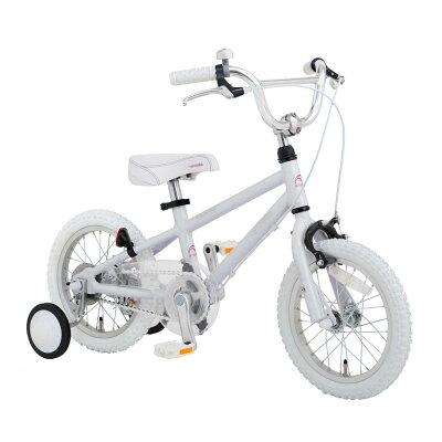 ◆arcoba◆アルコバ子供用自転車14インチ幼児車TEKTROブレーキ・ホワイトパーツハイクオリティー子ども用自転車補助輪付子供02P06Aug16