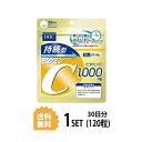 【送料無料】 DHC 持続型ビタミンC 30日分 (120粒) ディーエイチシー 【栄養機能食品(ビタミンC)】