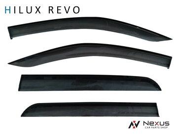 トヨタ HILUX REVO ハイラックス レボ 専用 スモークドアバイザー 4P セット TNC