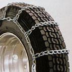 TSUBAKI つばき【7.50R18・ノーマル/スタッドレス共通】 特殊合金鋼タイヤチェーン TRUCKER-5(スプリングバンド付き) 標準型/シングル クロスチェーン線径5.94mm [6110S+R-18_1]